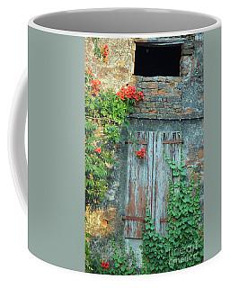 Old Farm Door Coffee Mug