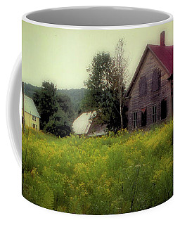 Old Farmhouse - Woodstock, Vermont Coffee Mug
