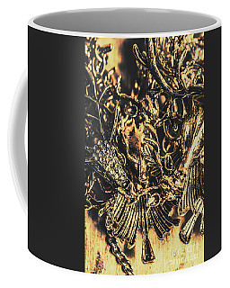 Old-fashioned Deer Jewellery Coffee Mug