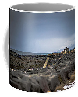 Old Fisherman's Coastal House Coffee Mug
