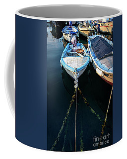 Old Fishing Boats Of The Adriatic Coffee Mug
