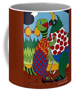 Old Folks Dancing Coffee Mug