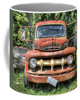 Old Ford Farm Truck Coffee Mug