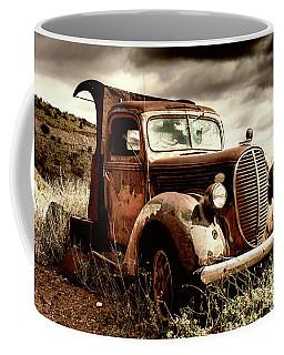 Old Ford Truck In Desert Coffee Mug