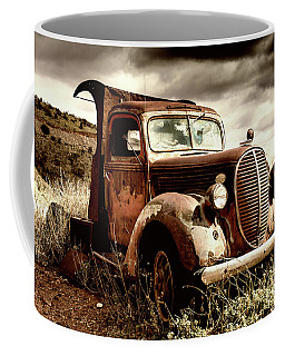 Old Ford Truck In Desert Coffee Mug