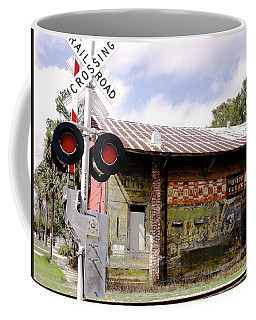 Old Freight Depot Perry Fl. Built In 1910 Coffee Mug