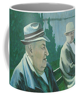 Old Friends Coffee Mug by Susan Lafleur