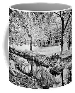 Coffee Mug featuring the photograph Old Frontier House by Paul W Faust - Impressions of Light