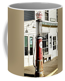 Coffee Mug featuring the photograph Old Fuel Pump by Alexey Stiop