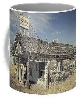 Old Gas Station Coffee Mug by Robert Bales