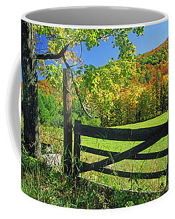 Old Gate At East Orange Coffee Mug
