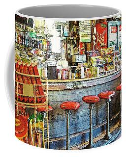 Old General Store Soda Fountain Gruene Tx Coffee Mug