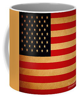 Old Glory . Square Coffee Mug