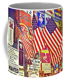 Coffee Mug featuring the photograph Old Glory by Joan Reese