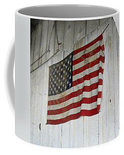Old Glory Coffee Mug by Laurel Powell