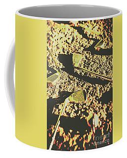 Old Golfing Games Coffee Mug
