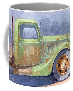 Old Green Ford Coffee Mug