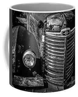 Old Gritty Rusty Truck Stowe Vermont Coffee Mug