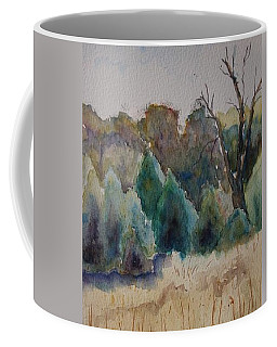 Old Growth Forest Coffee Mug by Patsy Sharpe