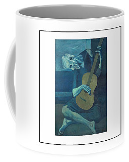 Old Guitarist Coffee Mug
