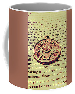 Old Horoscope Of Gemini Coffee Mug