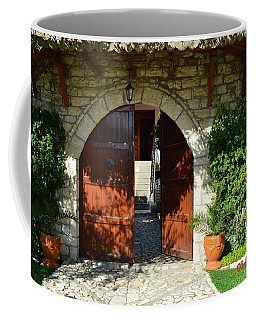 Old House Door Coffee Mug by Nuri Osmani