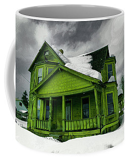 Coffee Mug featuring the photograph Old House In Roslyn Washington by Jeff Swan