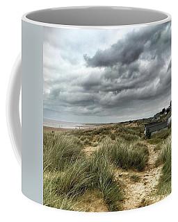 Old Hunstanton Beach, North #norfolk Coffee Mug