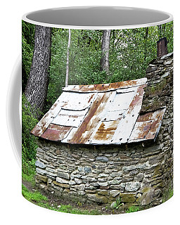 Old Hut Of Early Chinese Settlers In New Zealand Coffee Mug by Yurix Sardinelly