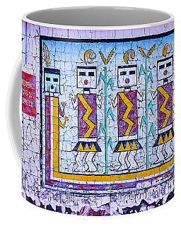 Old Indian Mural Coffee Mug
