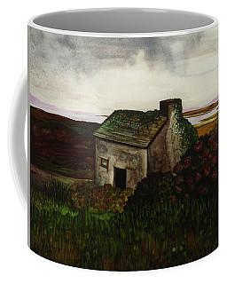 Old Irish Cottage Coffee Mug by Mary Ellen Frazee