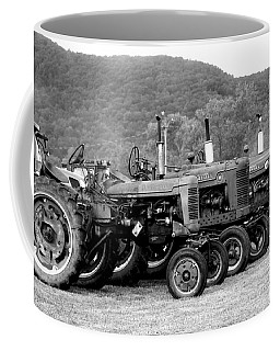 Coffee Mug featuring the photograph Old Iron by Rick Morgan