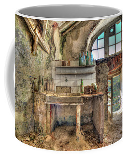Coffee Mug featuring the photograph Old Kitchen - Vecchia Cucina by Enrico Pelos