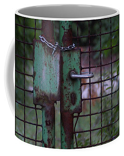 Old, Locked And Rusty Coffee Mug