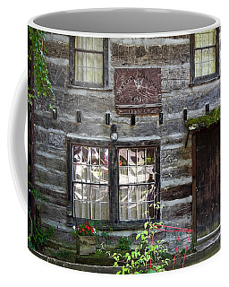 Old Log Building Coffee Mug