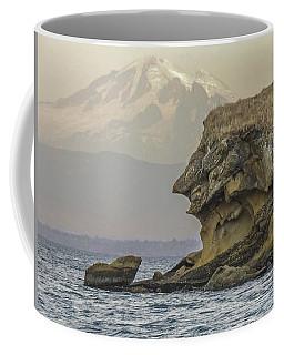 Old Man And The Mountain Coffee Mug