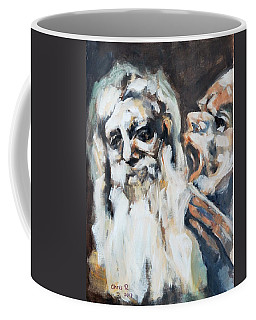 Old Men And Their Demons Coffee Mug