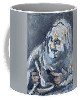 Old Man Eating, After Goya Coffee Mug