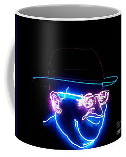 Old Man In Neon 3 Coffee Mug