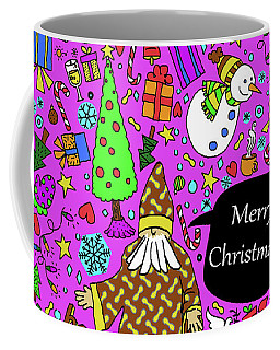 Old Man In The Peanut Merry Christmas Coffee Mug