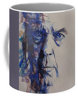 Old Man - Neil Young  Coffee Mug by Paul Lovering