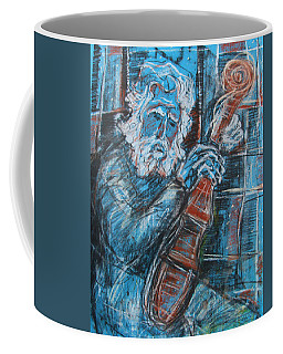 Old Man's Violin Coffee Mug