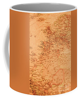 Old Maritime Map Coffee Mug