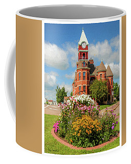 Coffee Mug featuring the photograph Old Merrill City Hall by Trey Foerster