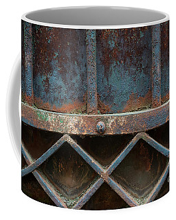 Coffee Mug featuring the photograph Old Metal Gate Detail by Elena Elisseeva