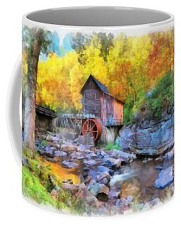 Old Mill Aquarelle Coffee Mug