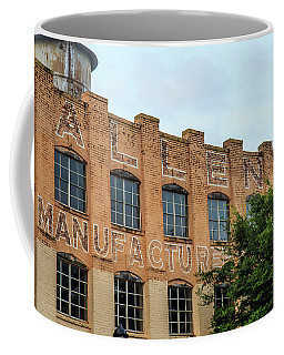 Old Mill Building In Buford Coffee Mug