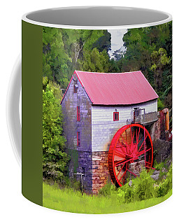 Old Mill Of Guilford Painted Square Coffee Mug