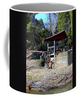Coffee Mug featuring the photograph Old Mill Of Guilford Pumphouse by Sandi OReilly