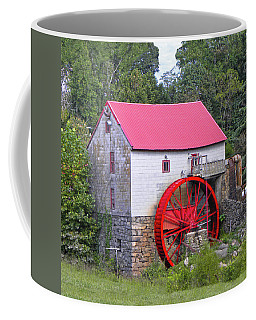 Old Mill Of Guilford Squared Coffee Mug by Sandi OReilly
